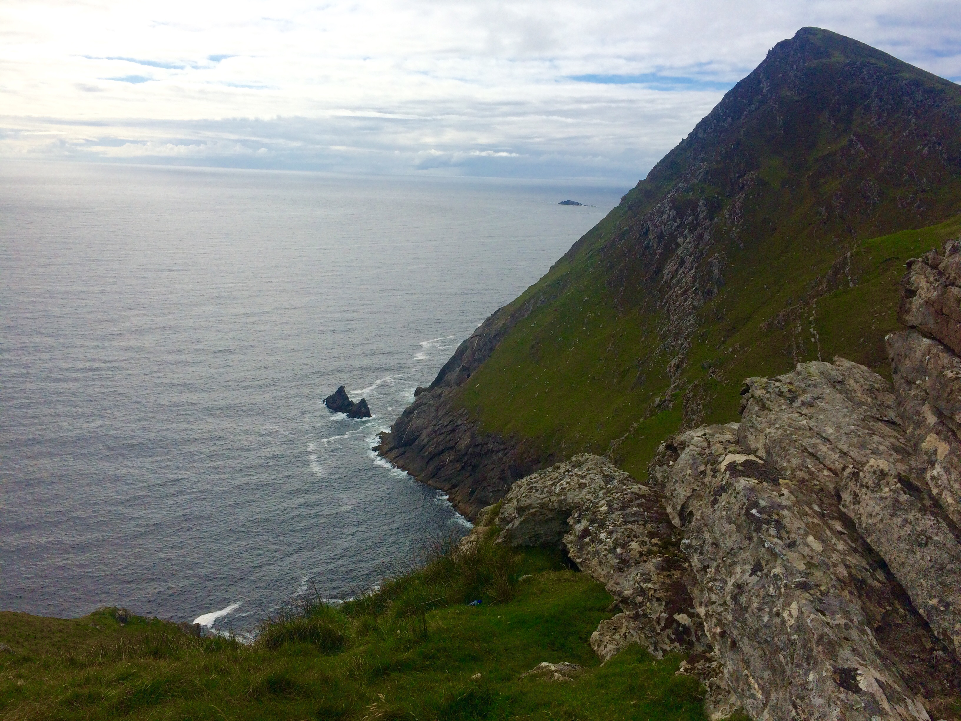 Next stop - New York! The view west out on to the Atlantic from Achill Head