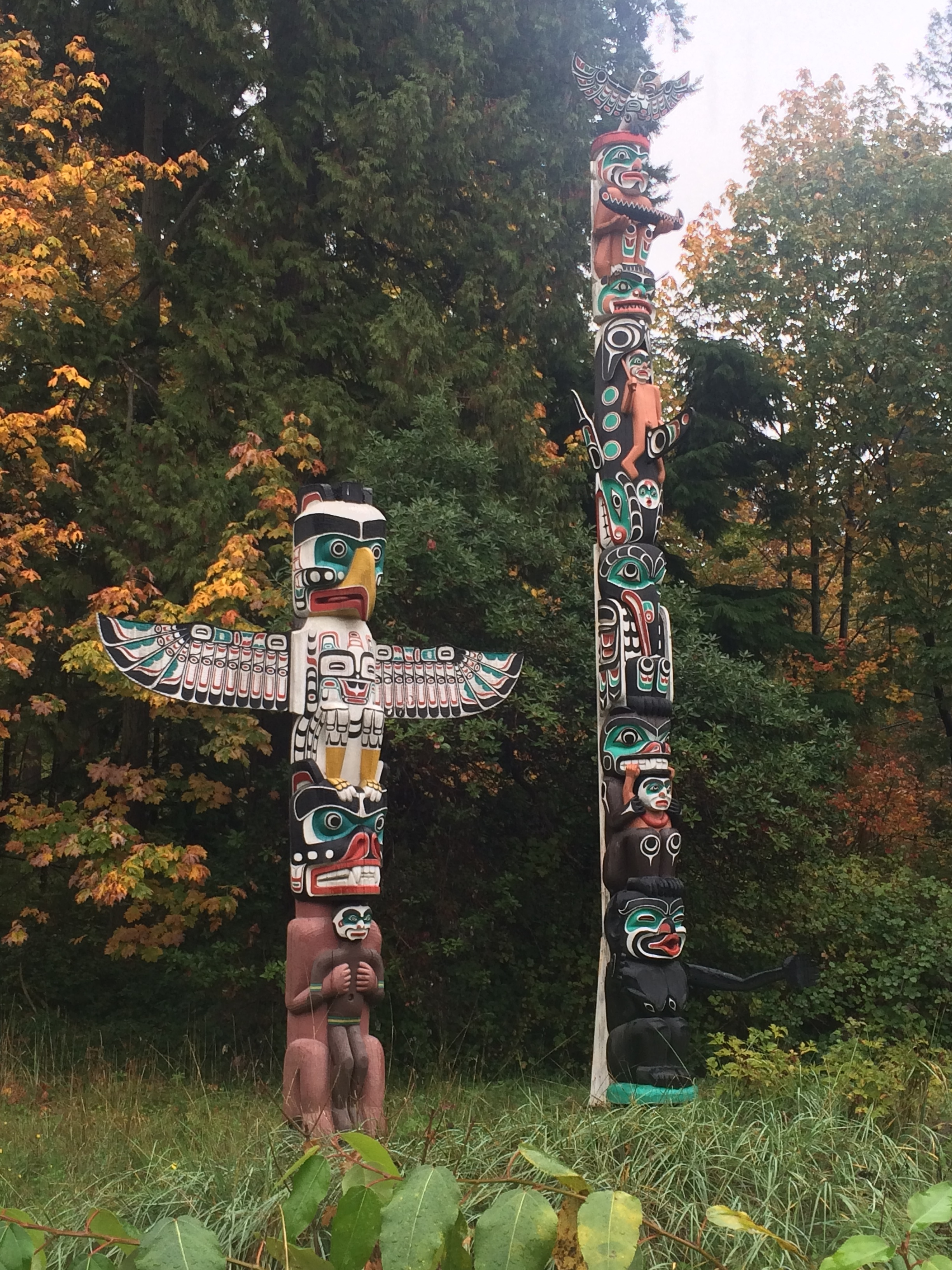 Totem Poles, Brockton Point