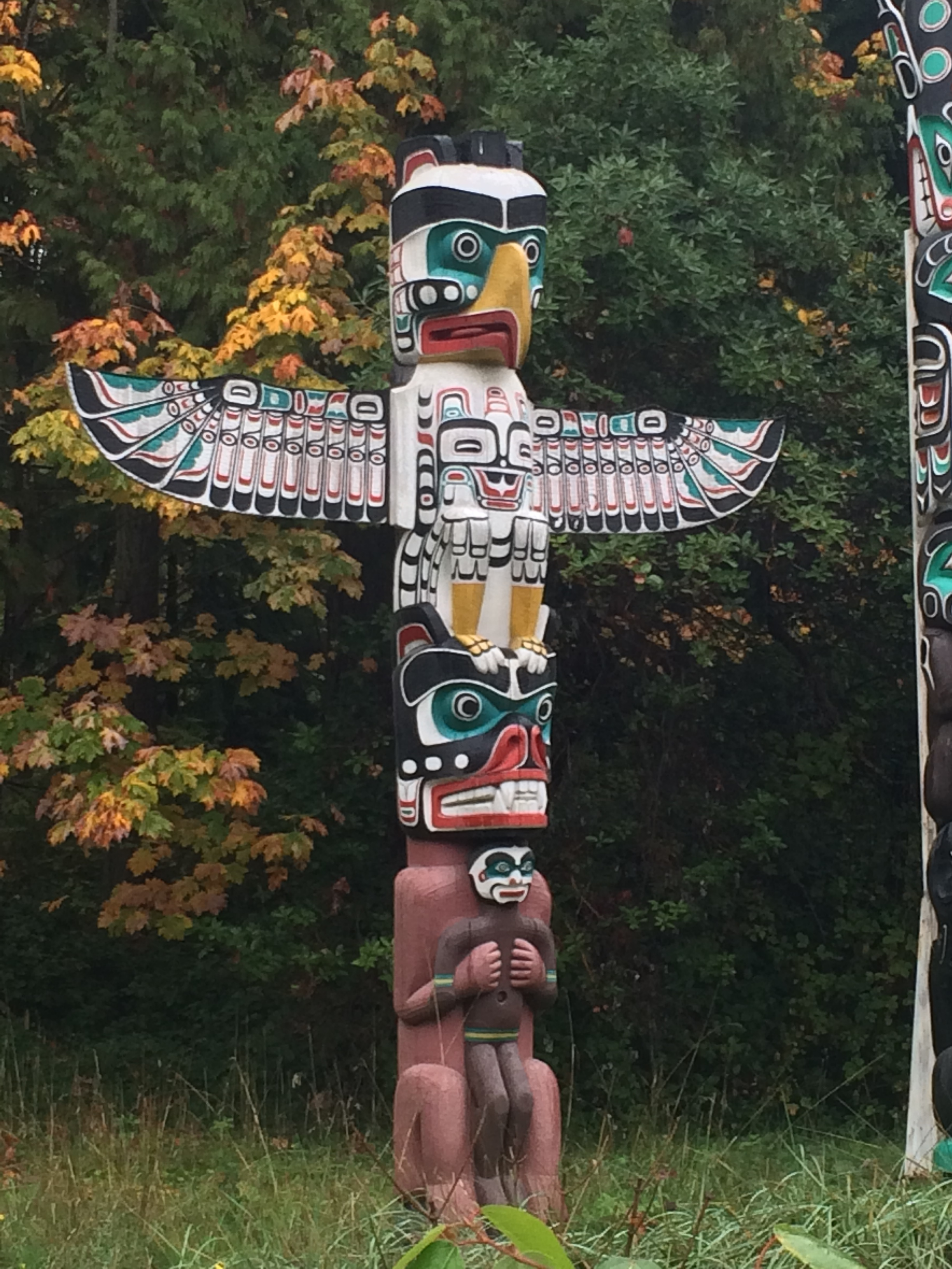 Totem Pole in Stanley Park