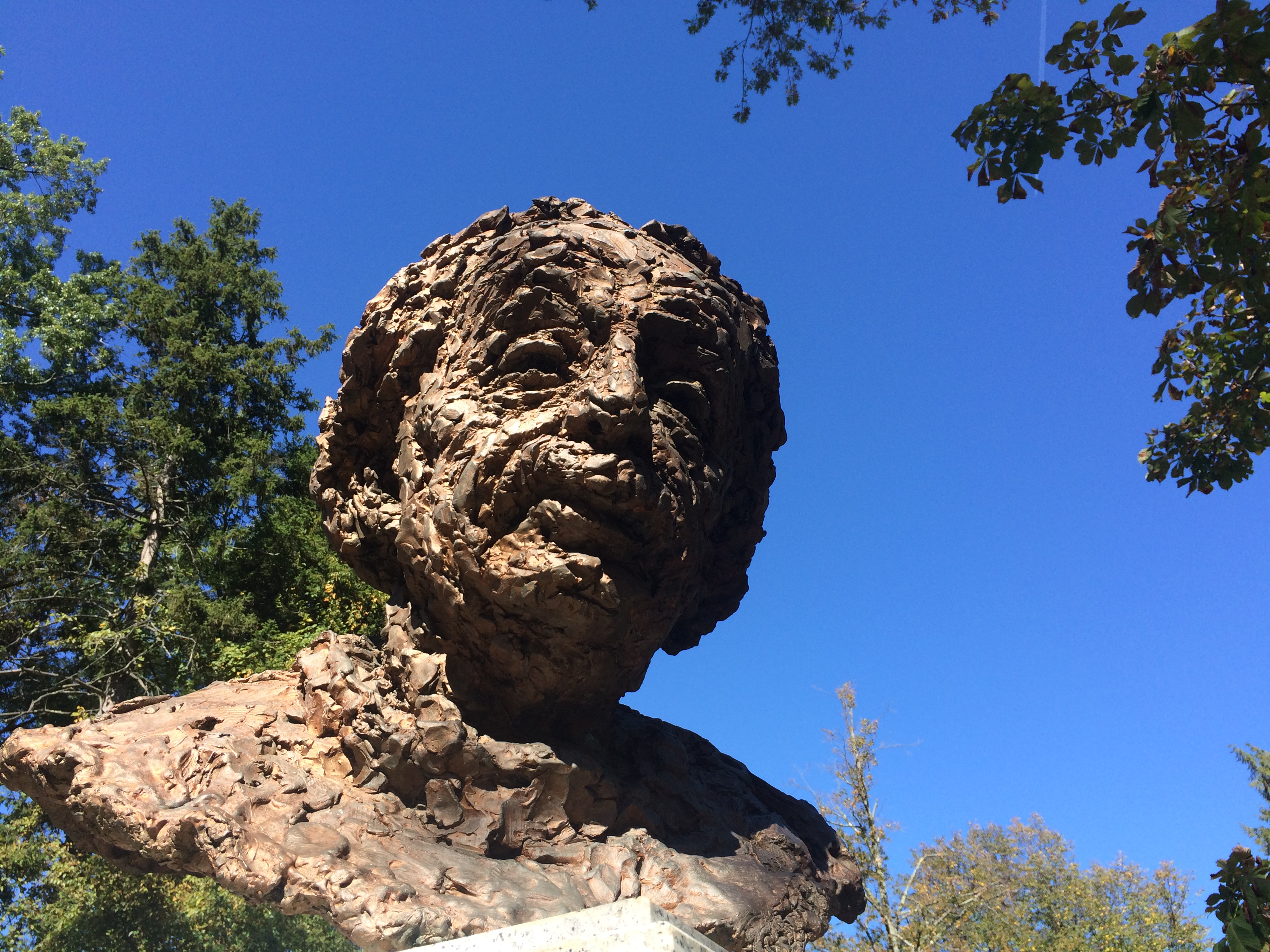 Einstein in Princeton, New Jersey