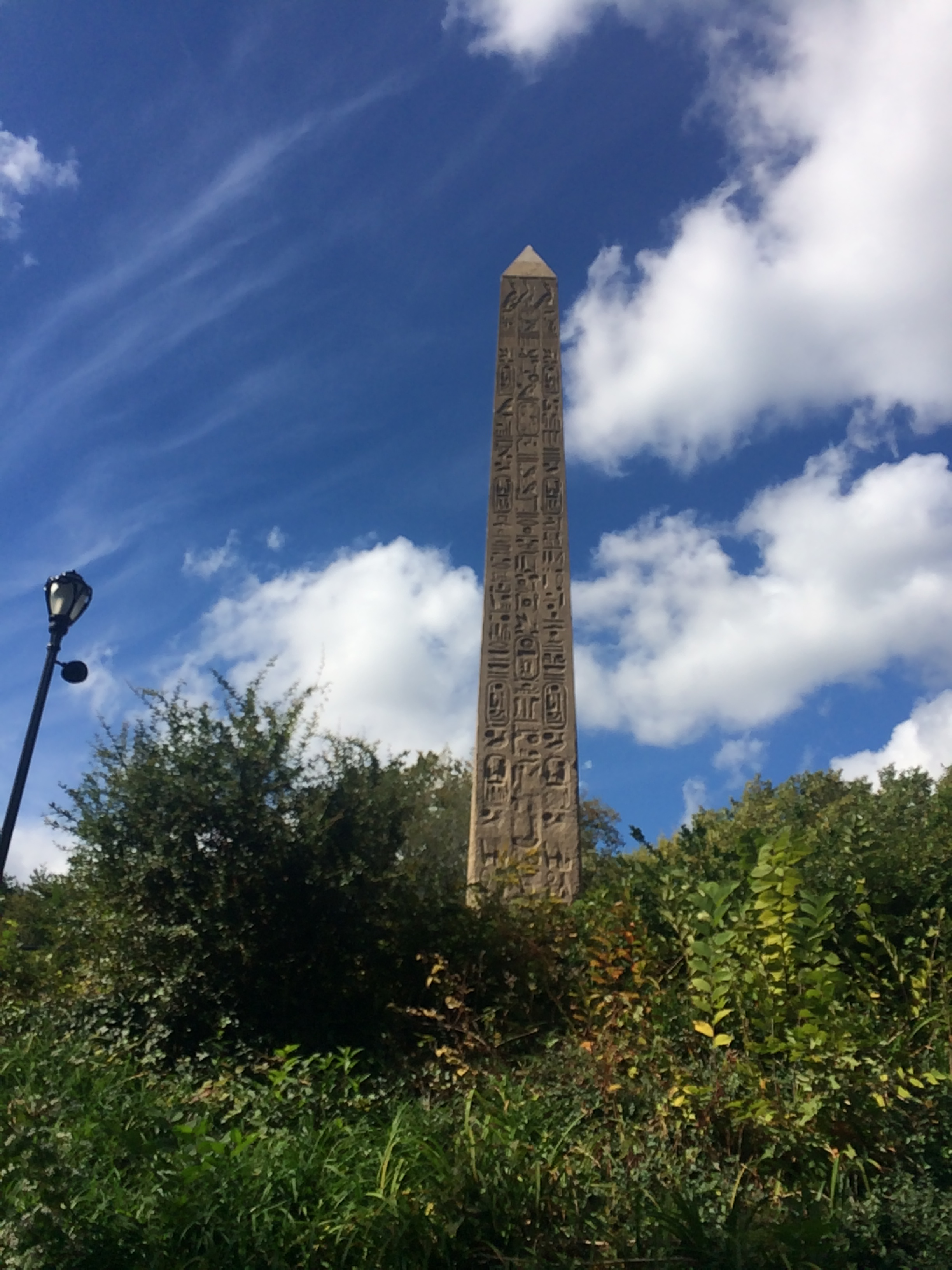 Obelisk Cleopatra's Needle Central Park New York