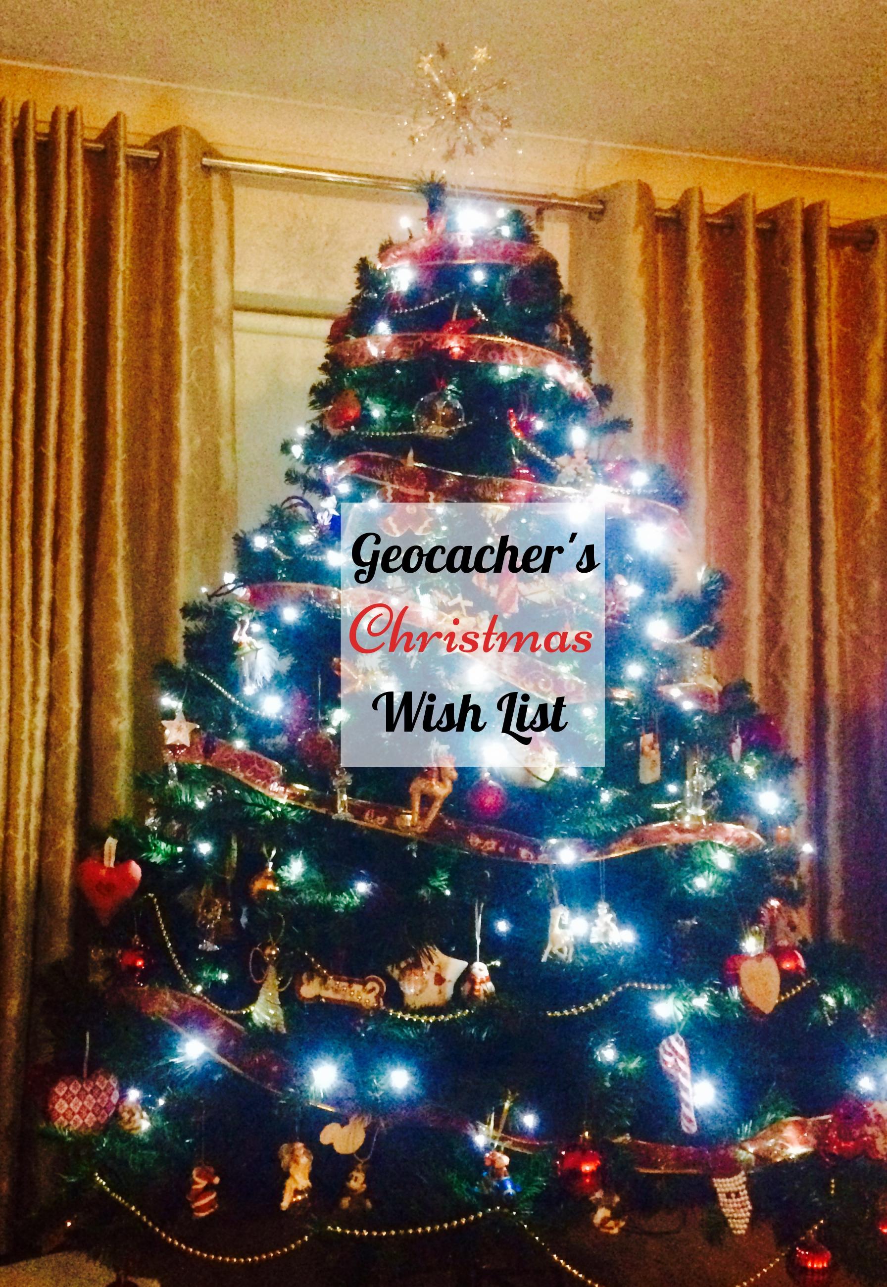 geocachers christmas wish list gifts