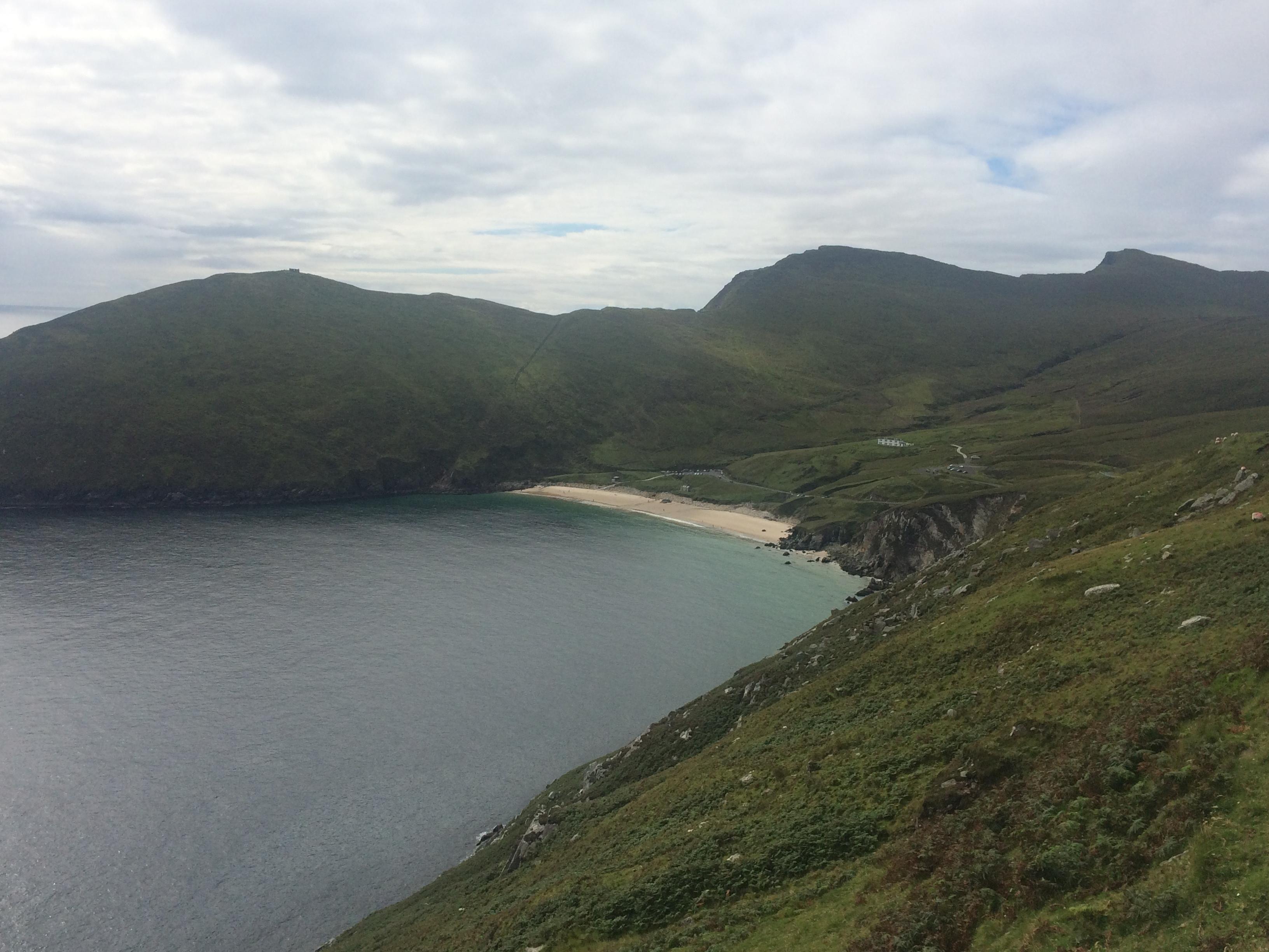keem strand achill island mayo ireland