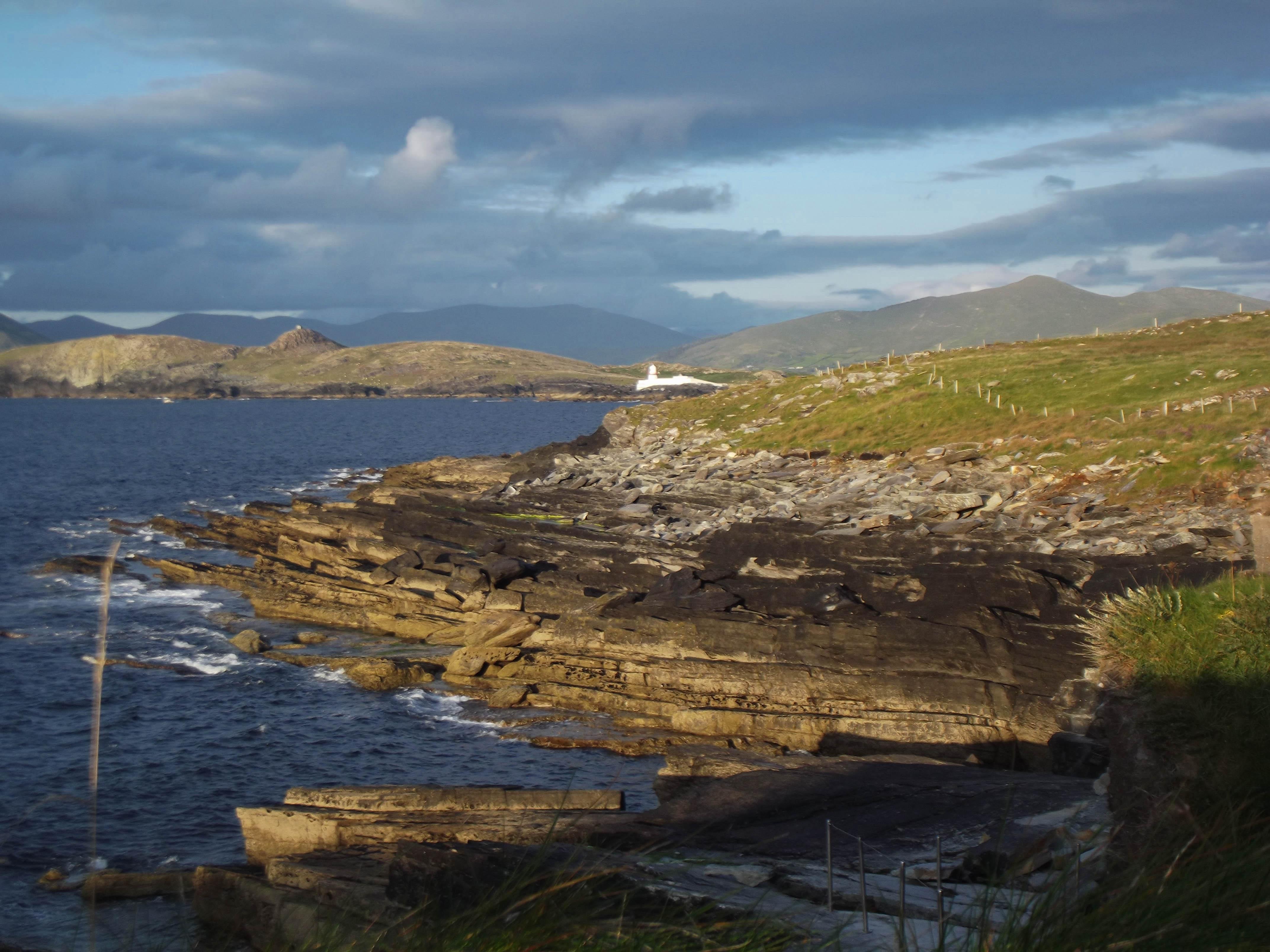tetrapod trackway valentia island kerry ireland