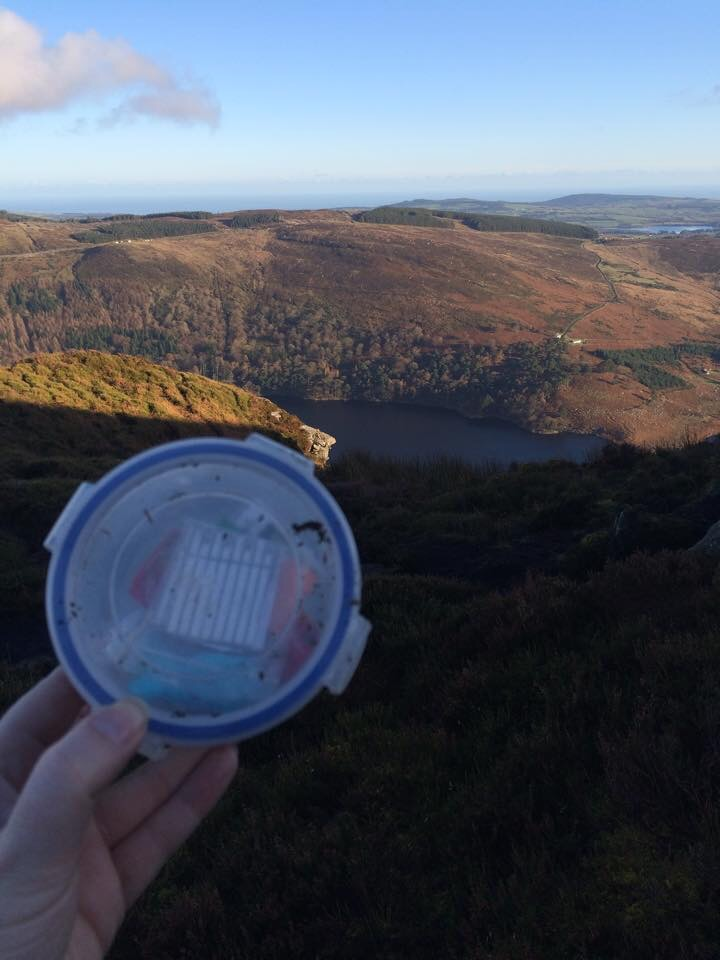 fancy mountain wicklow geocaching