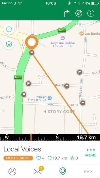 Multi cache screenshot intro app