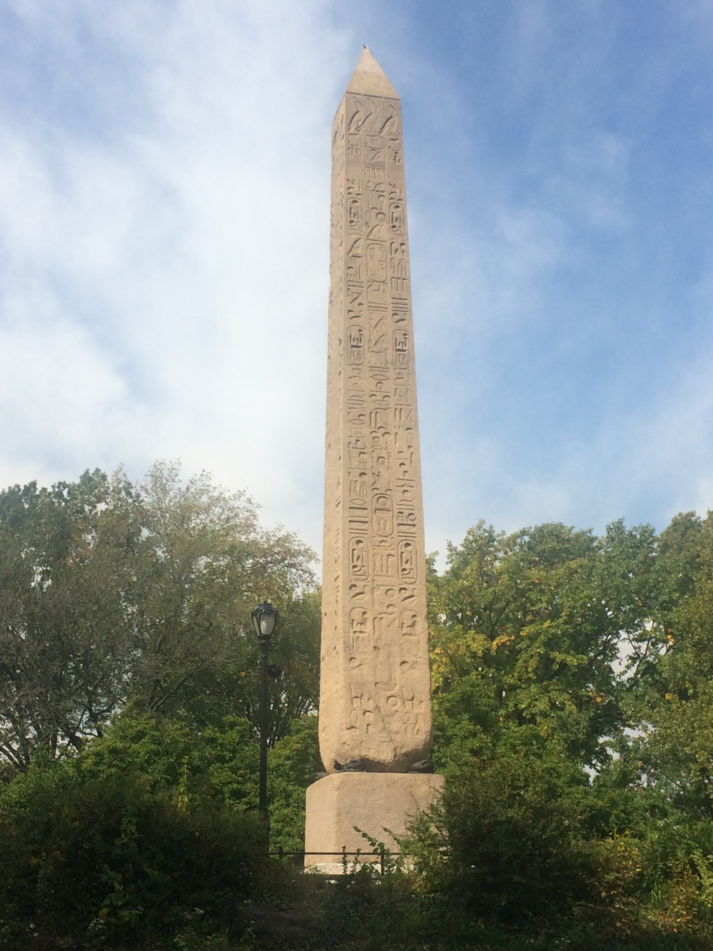 cleopatras needle obelisk central park new york city