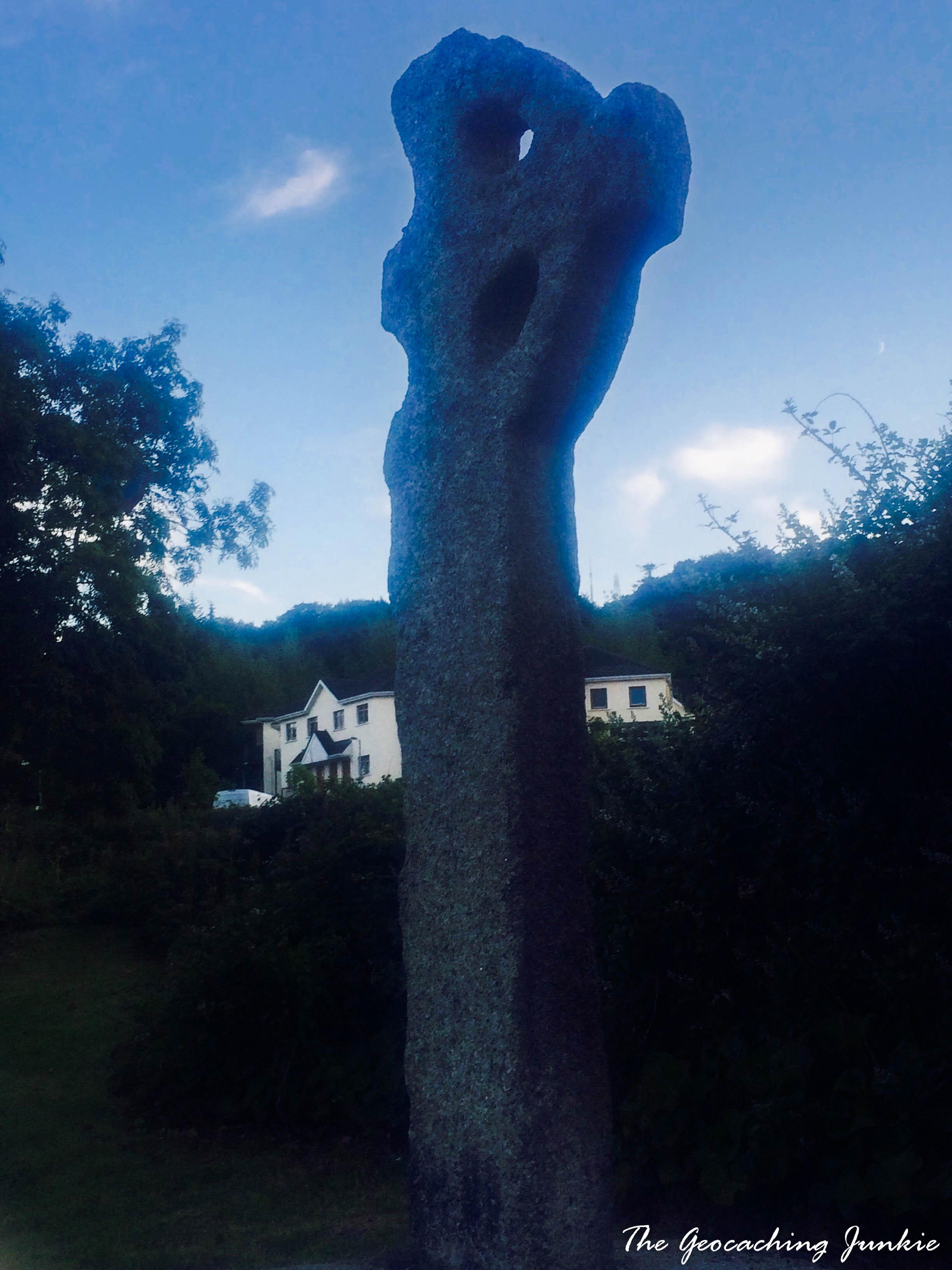 Geocaches at Irish Celtic Crosses