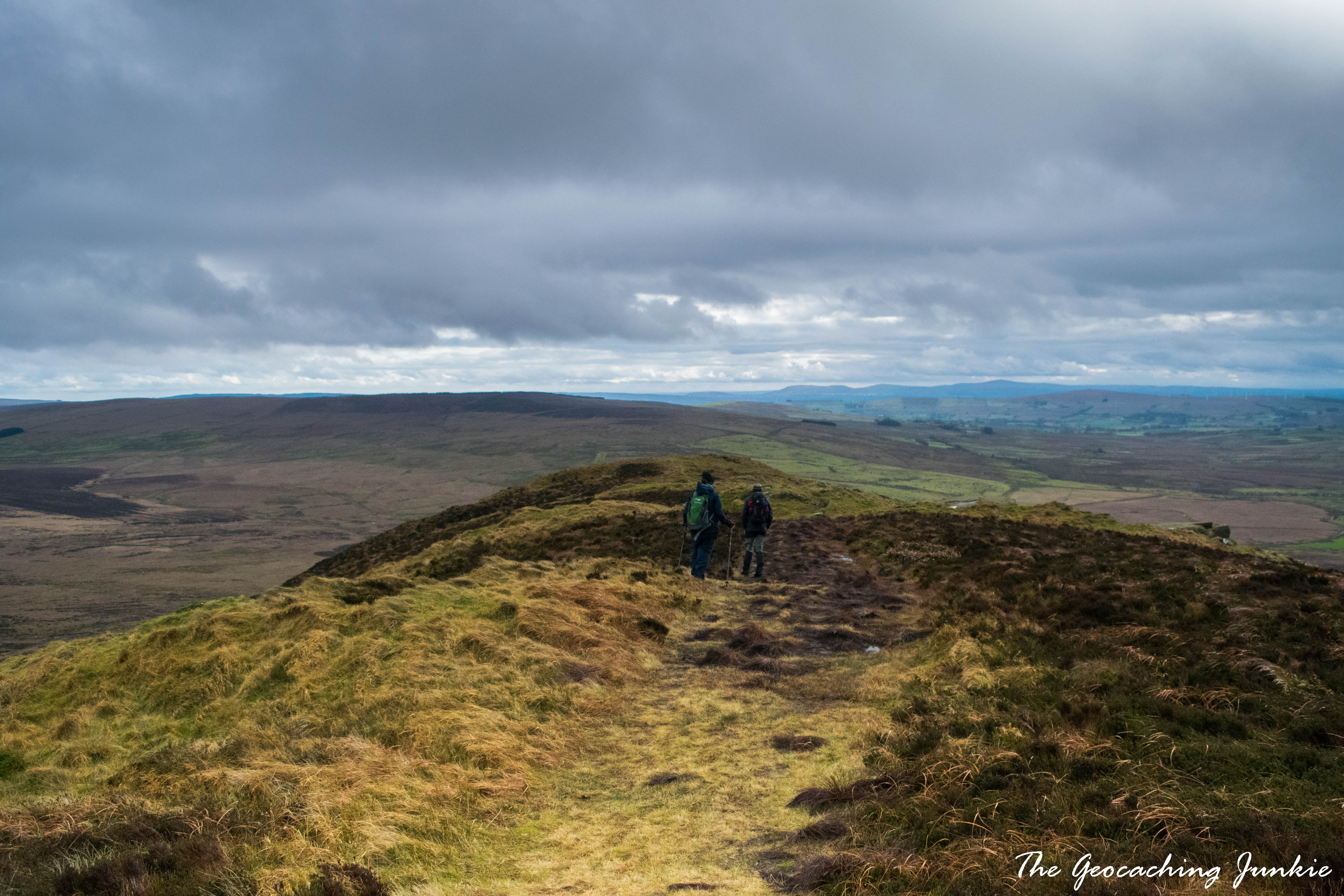 The Geocaching Junkie - February Hike: Slemish - St Patrick's Mountain