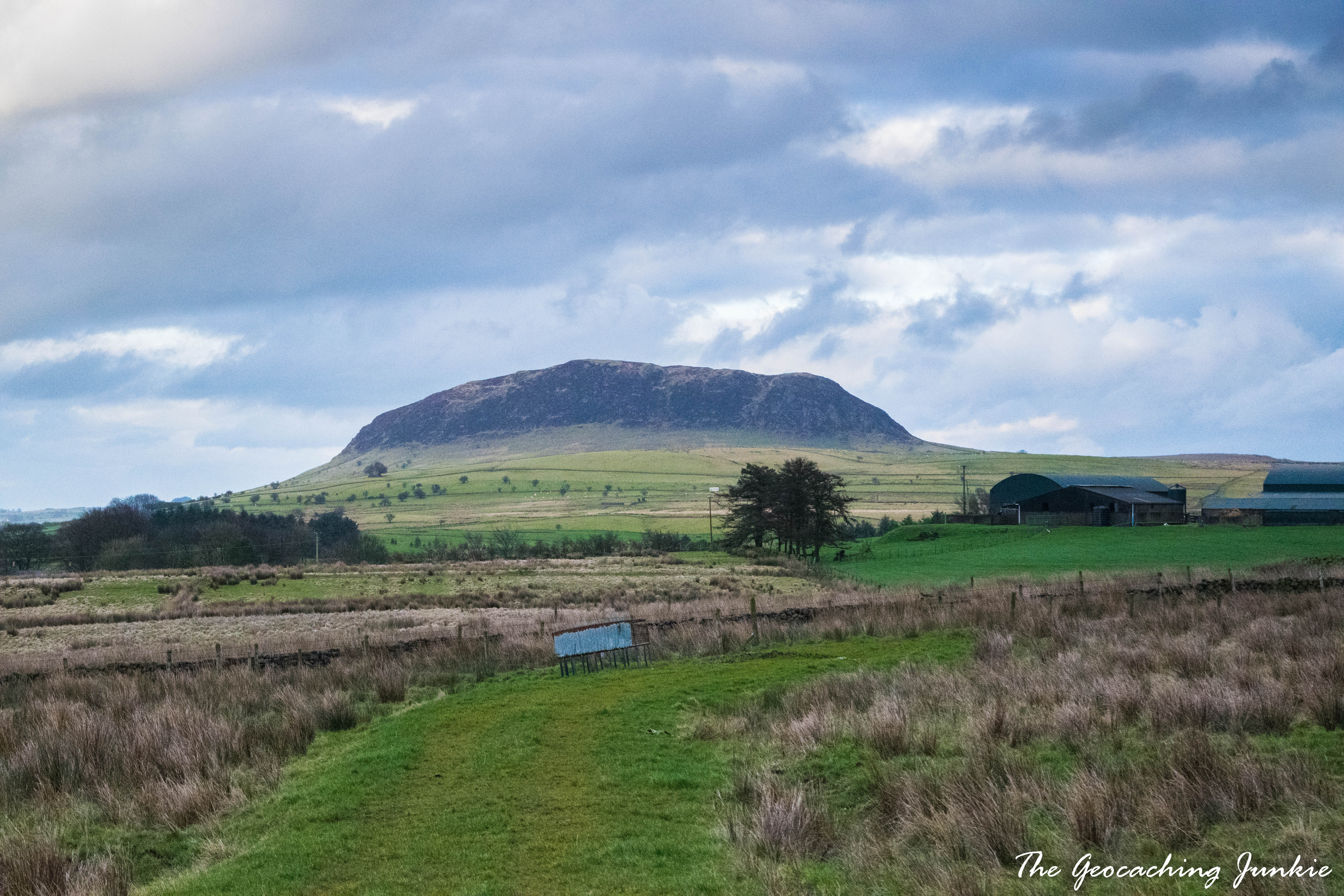 The Geocaching Junkie: Slemish - St Patrick's Mountain