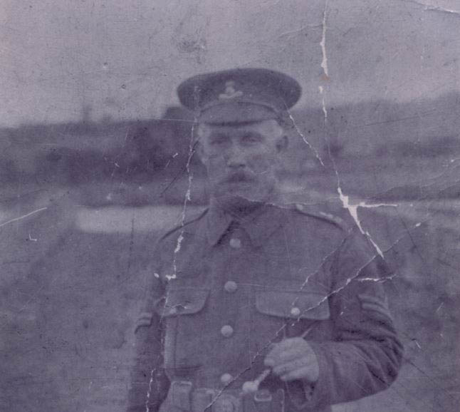 The Geocaching Junkie: Corporal Patrick Joseph Murphy, Royal Dublin Fusiliers
