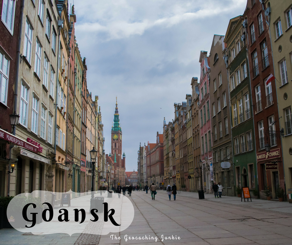 The Geocaching Junkie: Geocaching Travel Gdansk