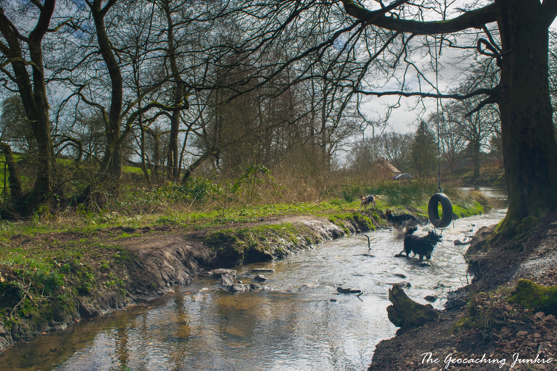 The Geocaching Junkie: Lumsdale Mills, Derbyshire