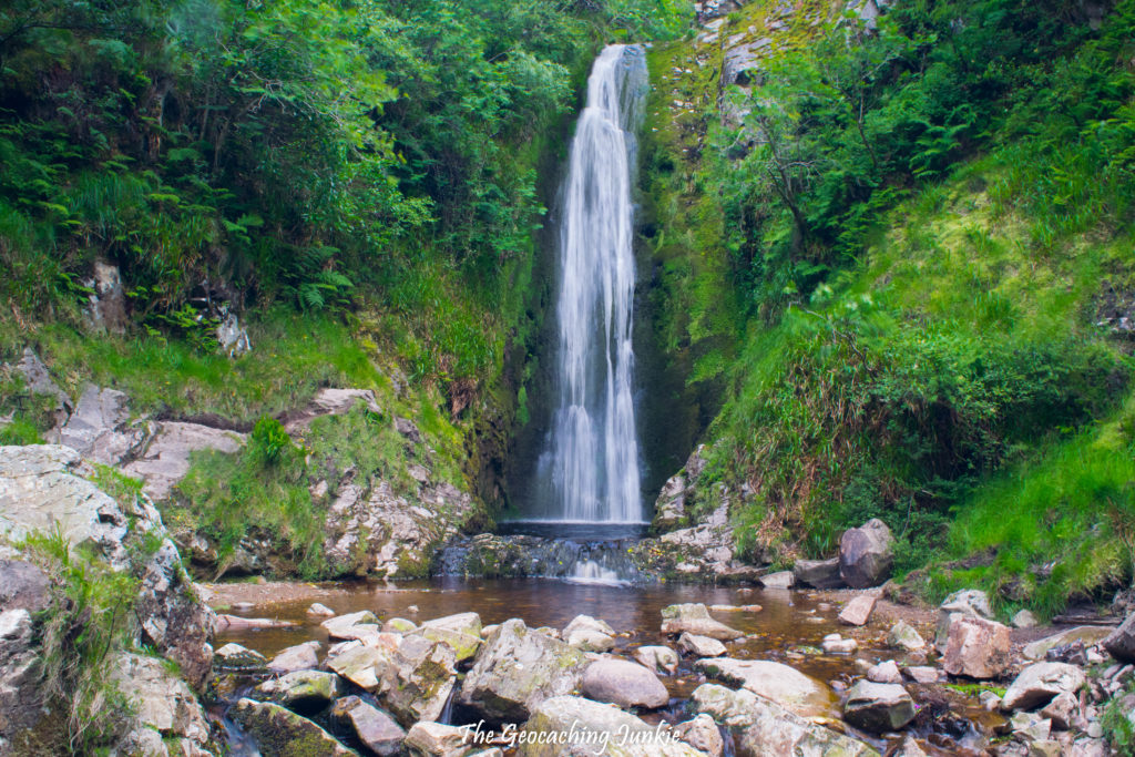 Glenevin Waterfall | The Geocaching Junkie